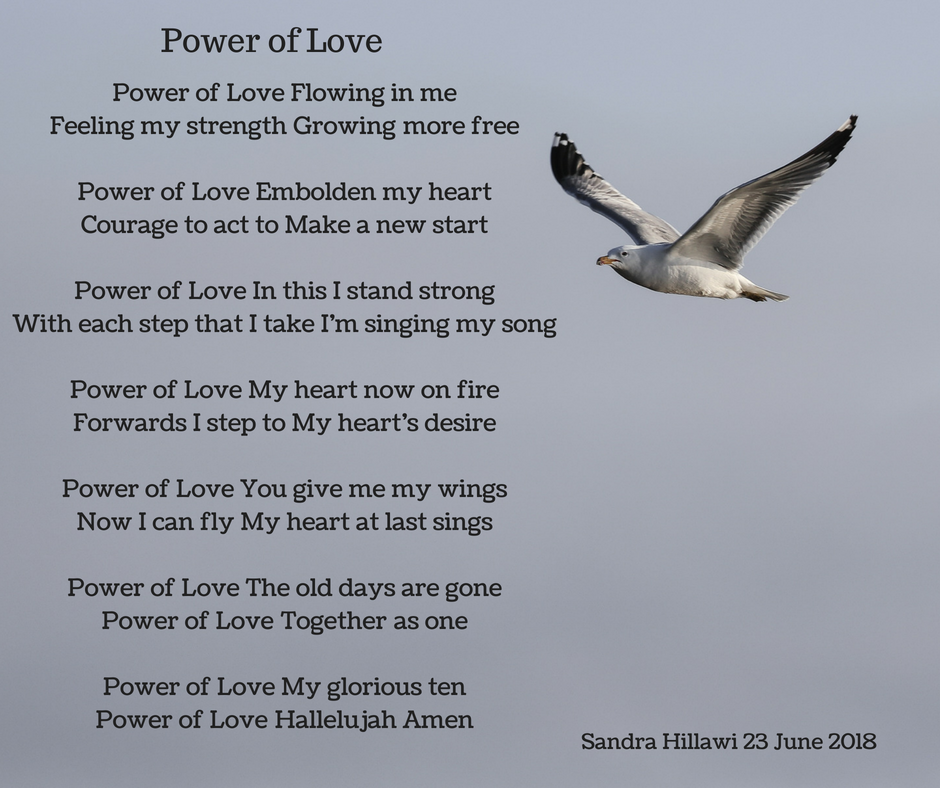 Power of Love Flowing in me