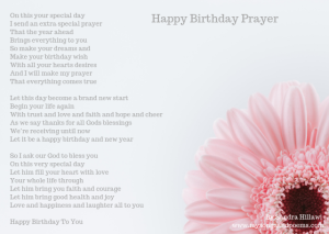 happy birthday prayer